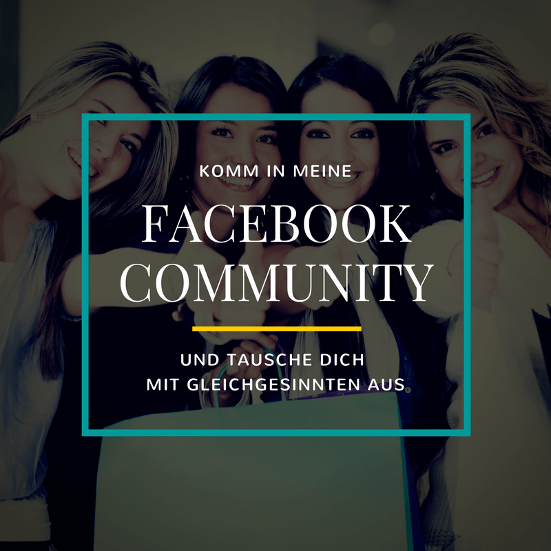 Komm in meine Facebook-Community