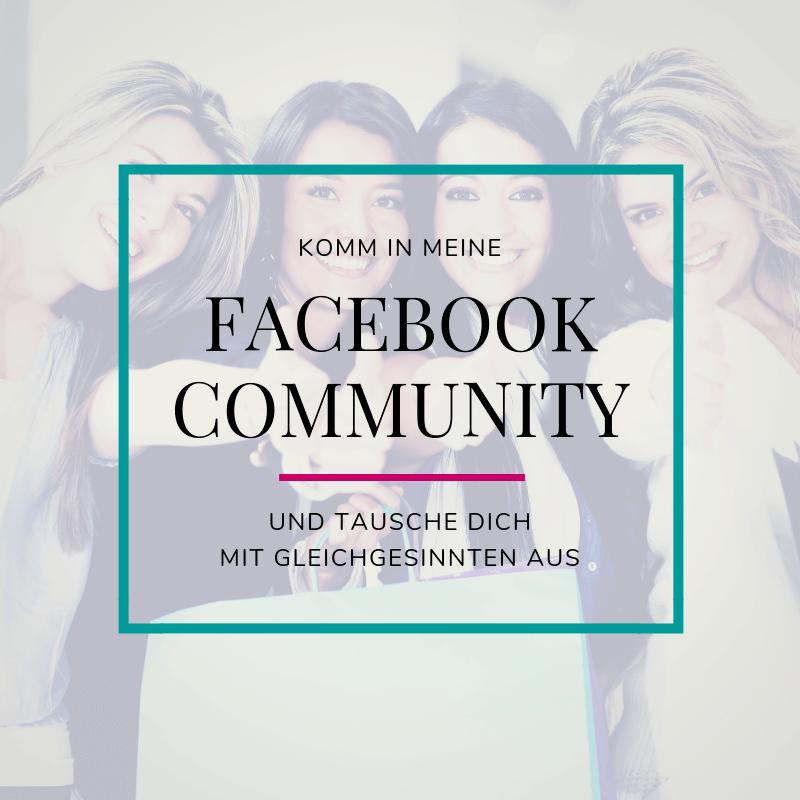 Komm in meine FB-community
