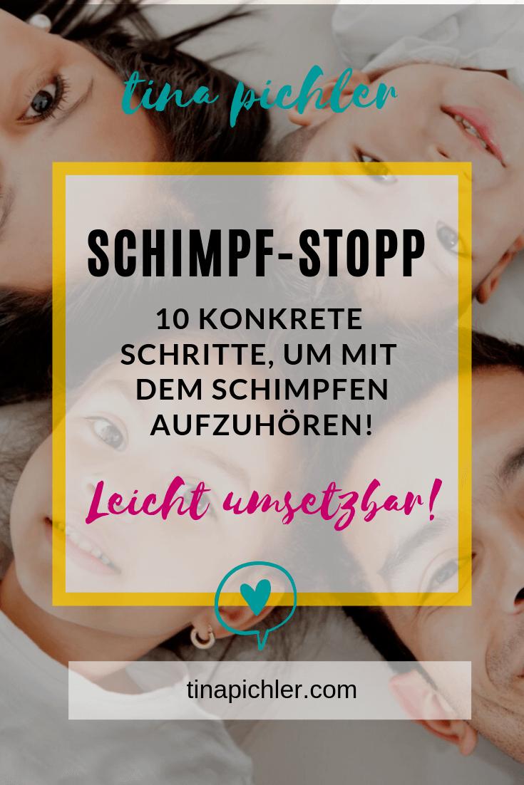 10 Schritte um mit Schimpfen oder Schreien aufzuhören!