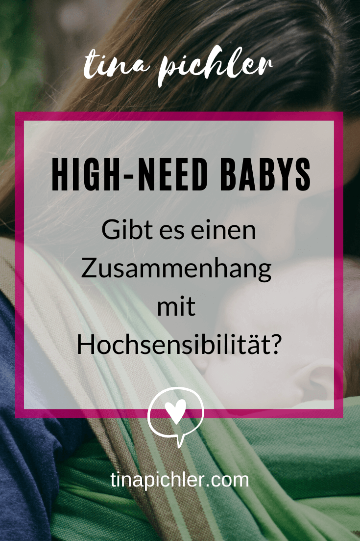 High-Need Baby oder gibt es einen Unterschied zu hochsensibel?