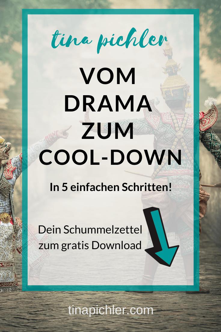 Dein Schummelzettel Vom Drama zum Cool-down