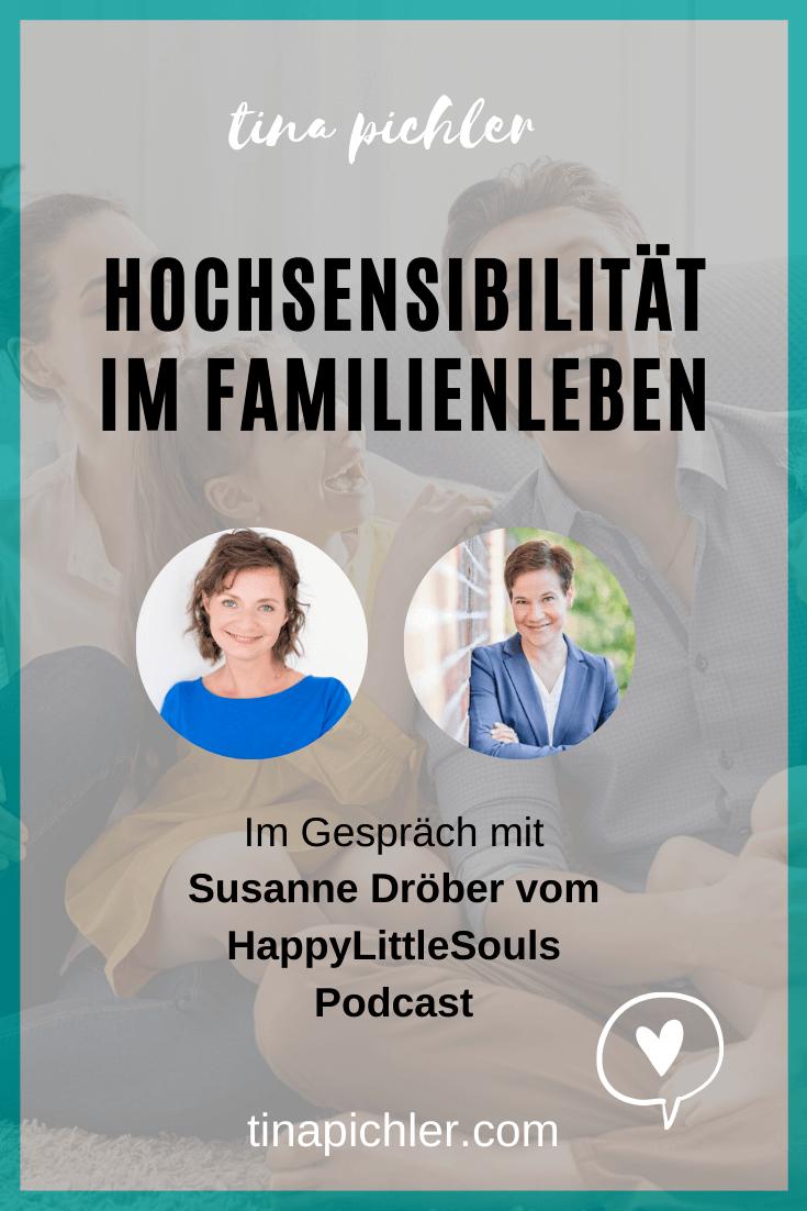 Hochsensibilität im Familienleben im Gespräch mit Susanne Dröber