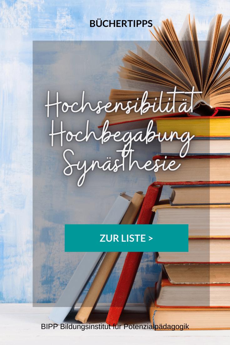 Büchertipps Hochsensibilität & Hochbegabung