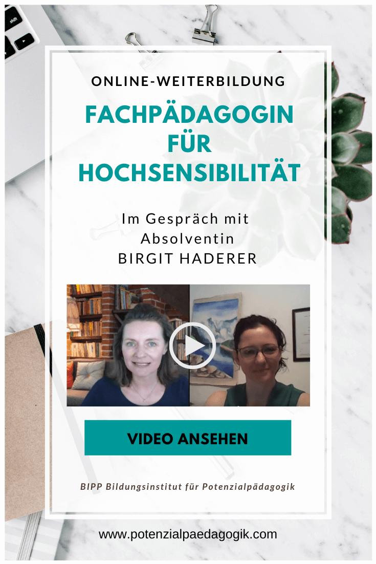 Im Gespräch mit Absolventin Birgit Haderer