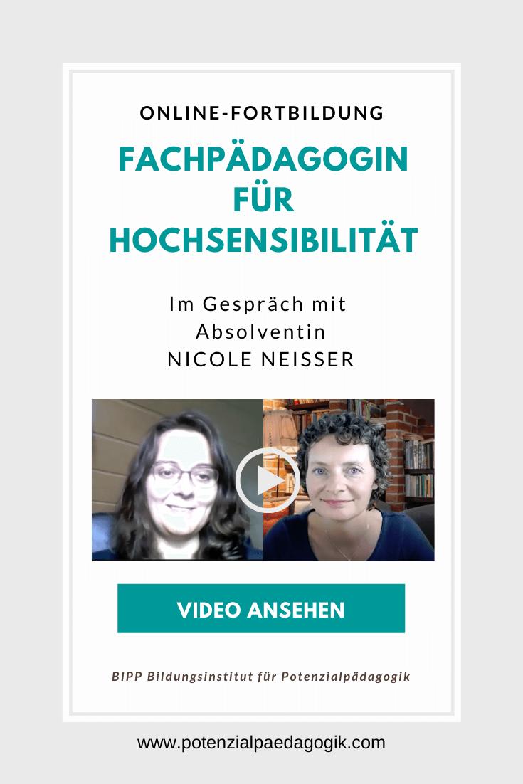 Fortbildung Absolventin Nicole Neißer